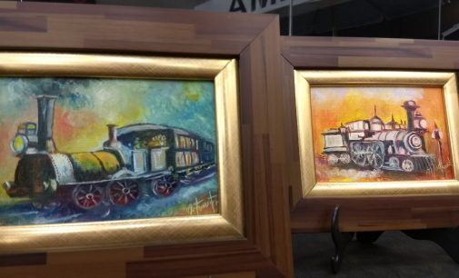 "Loja Havan recebe a exposição ""Oí, oí o Trem"""