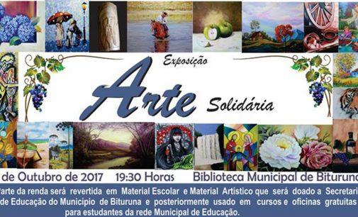 """Bituruna recebe nessa terça-feira, """"Arte Solidária"""""""