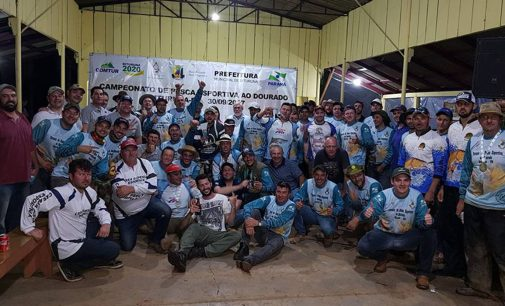 Bituruna recebeu o 9º Campeonato Paranaense de Pesca