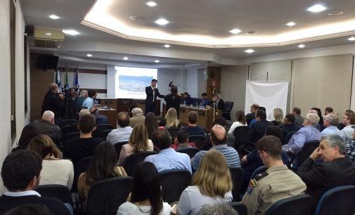 Foi apresentado o projeto de Urbanização de União da Vitória
