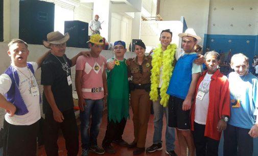 PM de São Mateus do Sul participa de ação na APAE