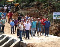 É inaugurada Ponte de concreto no Vau do Rio Pereira