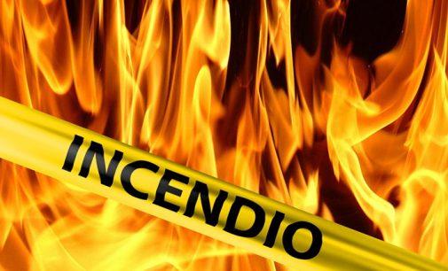 Incêndio destrói moradia no interior de Bituruna