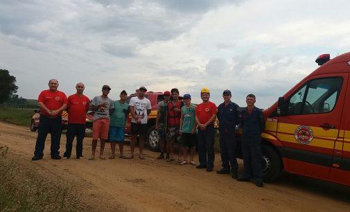Jovem de 18 anos é salvo no rio Iguaçu em Irineópolis
