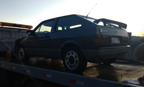 PM de Porto União recupera veículo roubado