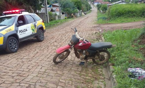 PM de Porto Vitória recupera moto furtada em 2015