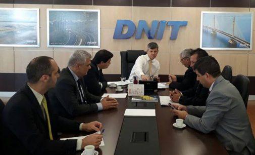 Prefeito Luís Otávio participa de reunião do Dnit