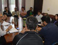 Prefeito Luís Otávio, realiza reunião com secretariado