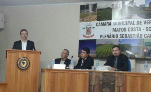 Prefeito Raul participa de Sessão Solene