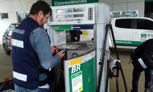 Postos de Combustíveis são fiscalizados na região de PU