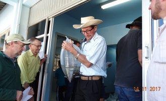 Agricultores de Cruz Machado recebem alevinos