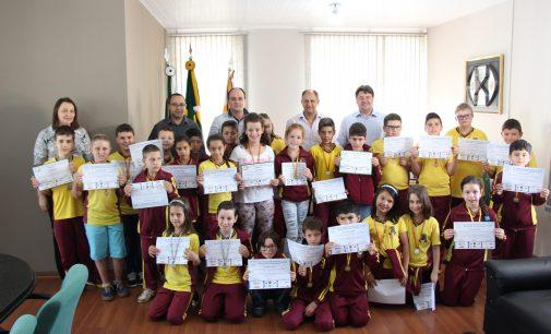 Alunos de Bituruna são destaque na Olimpíada Brasileira de Astronomia