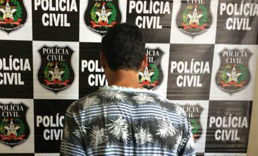 Homem é preso por porte ilegal de arma de fogo em PU