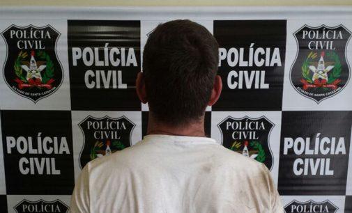 Homem é preso por violência doméstica em Porto União