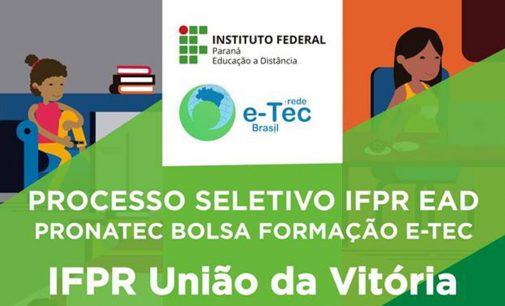 IFPR abre inscrições para o Processo de curso EaD