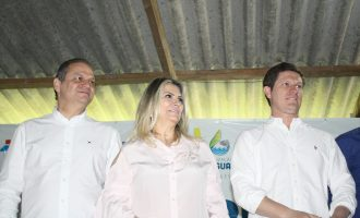 Cida Borghetti e Ricardo Barros prestigiam Semana do Rio Iguaçu