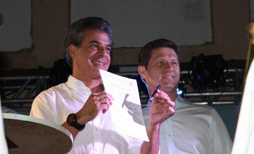 Governador do PR assina a licitação da ponte José Richa