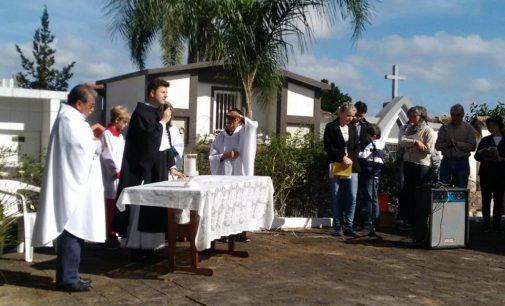 Missa marca o Dia de Finados em Porto União