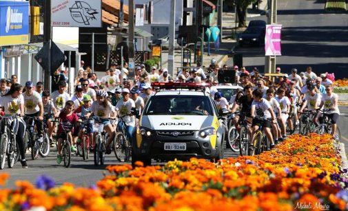 PM de São Mateus do Sul realiza passeio ciclístico