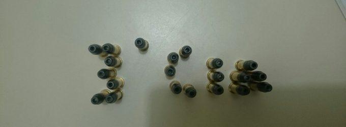 PM localiza munições em discussão de vizinhos em SMS