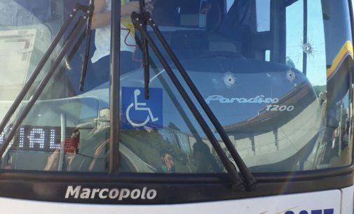 PRF registra tentativa de assalto em ônibus na BR 153