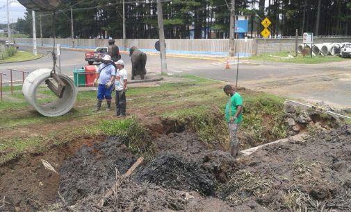 Porto União já trabalha nas melhorias das tubulações
