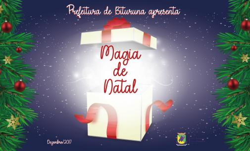 "Prefeitura de Bituruna lança, ""Magia de Natal"" em dezembro"