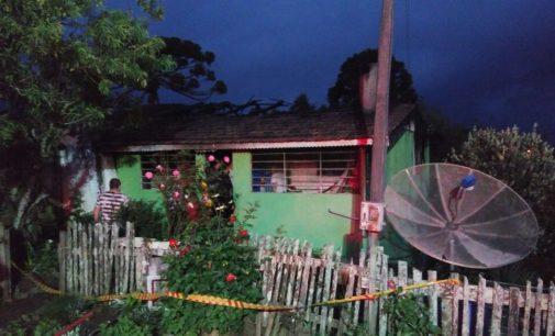 Vazamento de gás causa incêndio em Matos Costa