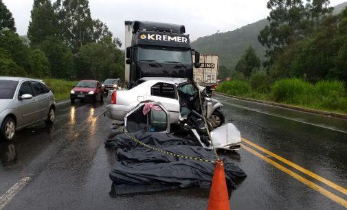 Mais um acidente na BR 153, deixa três mortos