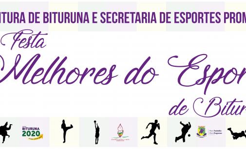 """A 5ª Festa """"Melhores do Esporte"""", acontece nesta quarta-feira, 13"""