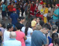 Papai Noel abre sua casa em General Carneiro