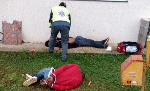 Assaltantes apanham no interior de Porto União