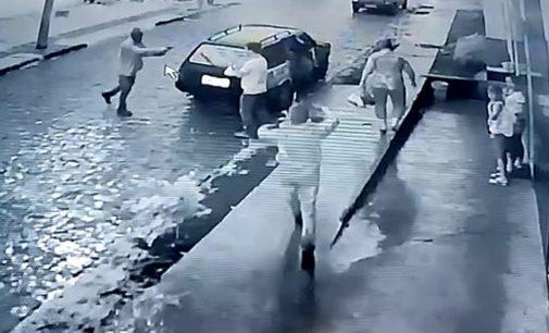 Assalto termina com troca de tiros em Bituruna