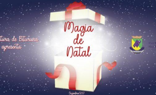 """Bituruna completa 62 anos hoje, com evento """"Magia de Natal"""""""