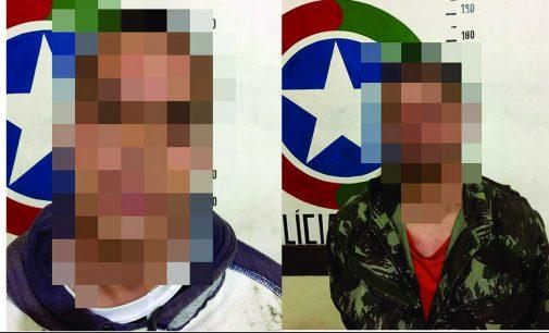 Dois foragidos da Justiça são presos em Porto União