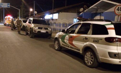 Dois homens são detidos por tentativa de roubo em Porto União