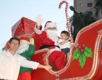 Papai Noel ganha casa no centro de UVA