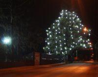 União da Vitória ganha árvore de Natal