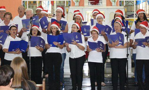 Comunidade se une para cantata de Natal em Porto União