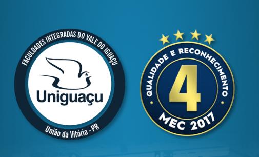MEC confirma Uniguaçu, como melhor instituição de ensino da região