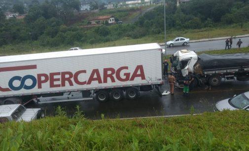 PRF registra mais um acidente na BR 153