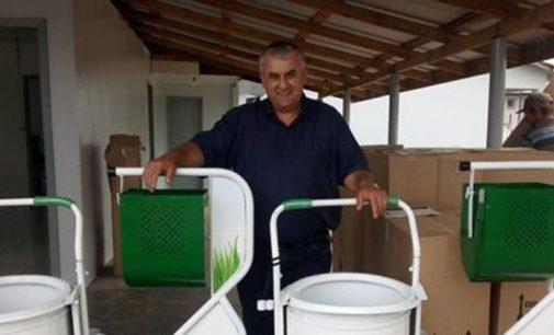 Paulo Frontin recebe kit de limpeza do Governo do PR