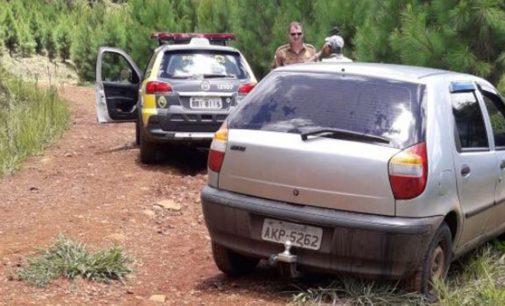 Polícia Militar de Cruz Machado recupera veículo