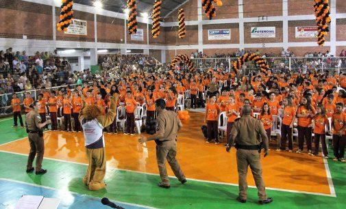 Proerd forma 300 crianças em Bituruna