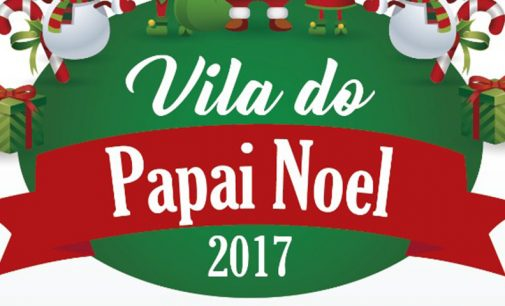 Vila do Papai Noel, será inaugurada neste sábado, 16