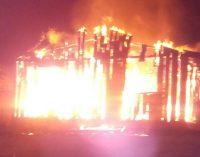 Homem coloca fogo em residência no São Sebastião
