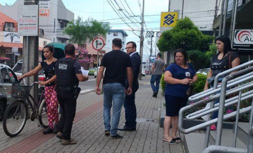 GAECO faz operação em Porto União da Vitória