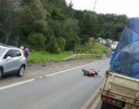 Três veículos se envolvem em acidente na BR 476