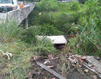 Condutor de UVA sofre grave acidente na BR 470