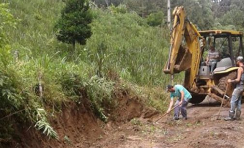 Estradas rurais de Porto União são recuperadas